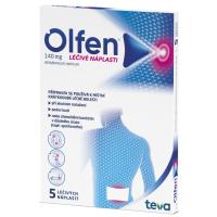 Zobrazit detail - Olfen 140mg léčivé náplasti drm. emp. med. 5x140mg