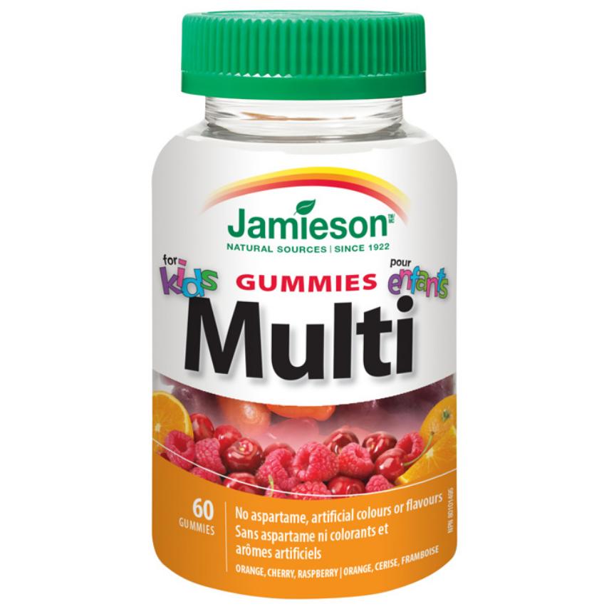 JAMIESON Multi Kids Gummies �elatin.pastilky 60ks