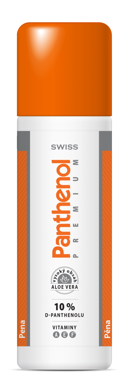 Panthenol 10% Swiss PREMIUM p�na 125+25ml zdarma