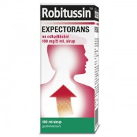 Zobrazit detail - Robitussin Expectorans odkašl. 100mg-5ml sir. 100ml