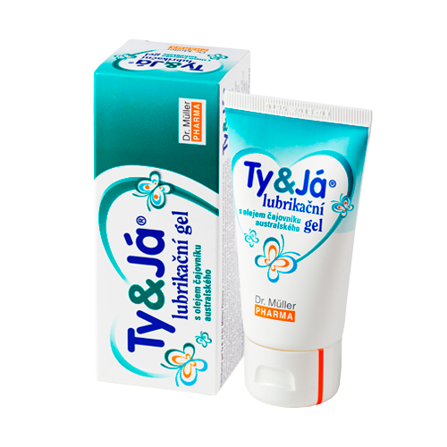 Lubrikační gel Ty a Já Tea Tree Oi 50ml