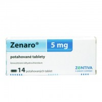 Zobrazit detail - Zenaro 5 mg por. tbl. flm.  14IV x5mg