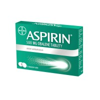 Zobrazit detail - Aspirin 500mg por. tbl. obd. 8x500mg