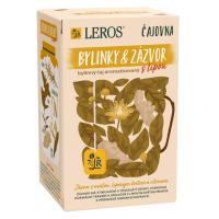 Zobrazit detail - LEROS VITAL Zázvor s lípou a citronem 20x2g