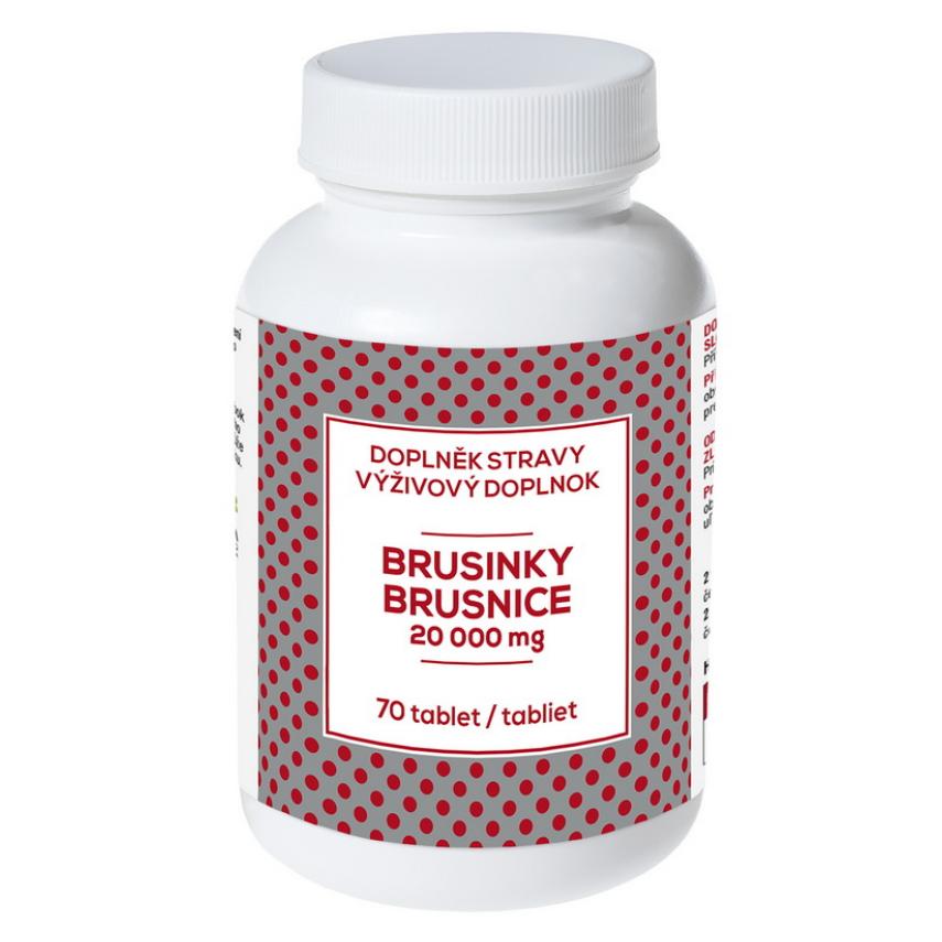 Brusinky - AKCE tbl.60+10