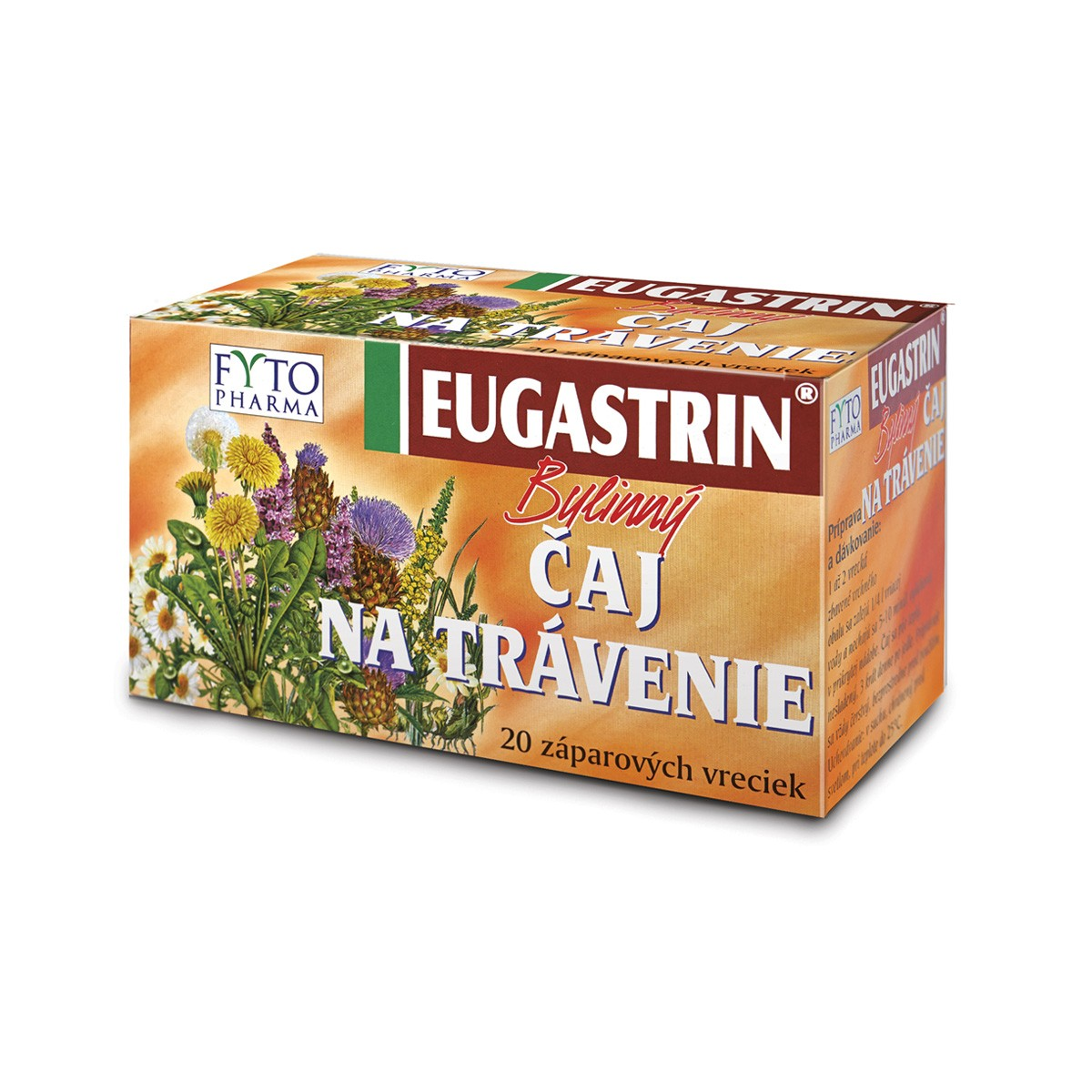 Eugastrin Bylinn� �aj na za��v�n� 20x1g Fytopharma