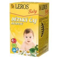 Zobrazit detail - LEROS BABY Dětský čaj bylinný n. s. 20x1. 8g