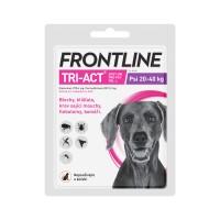 Zobrazit detail - Frontline Tri-Act psi 20-40kg spot-on 1x1 pipeta