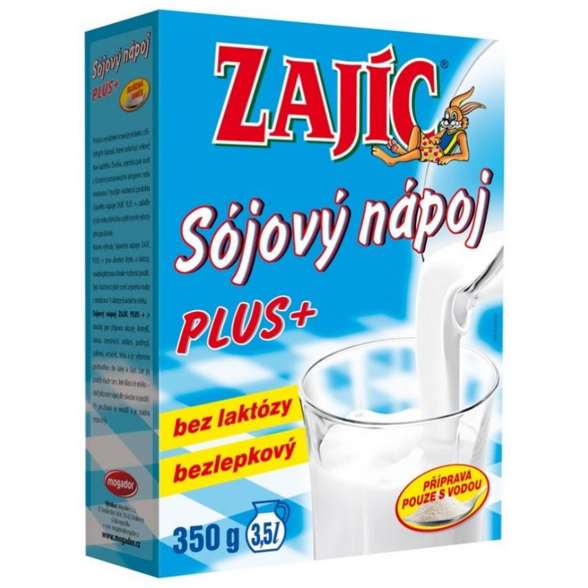 Sójový nápoj - Zajíc PLUS 350g vitam.+vápník+lecit