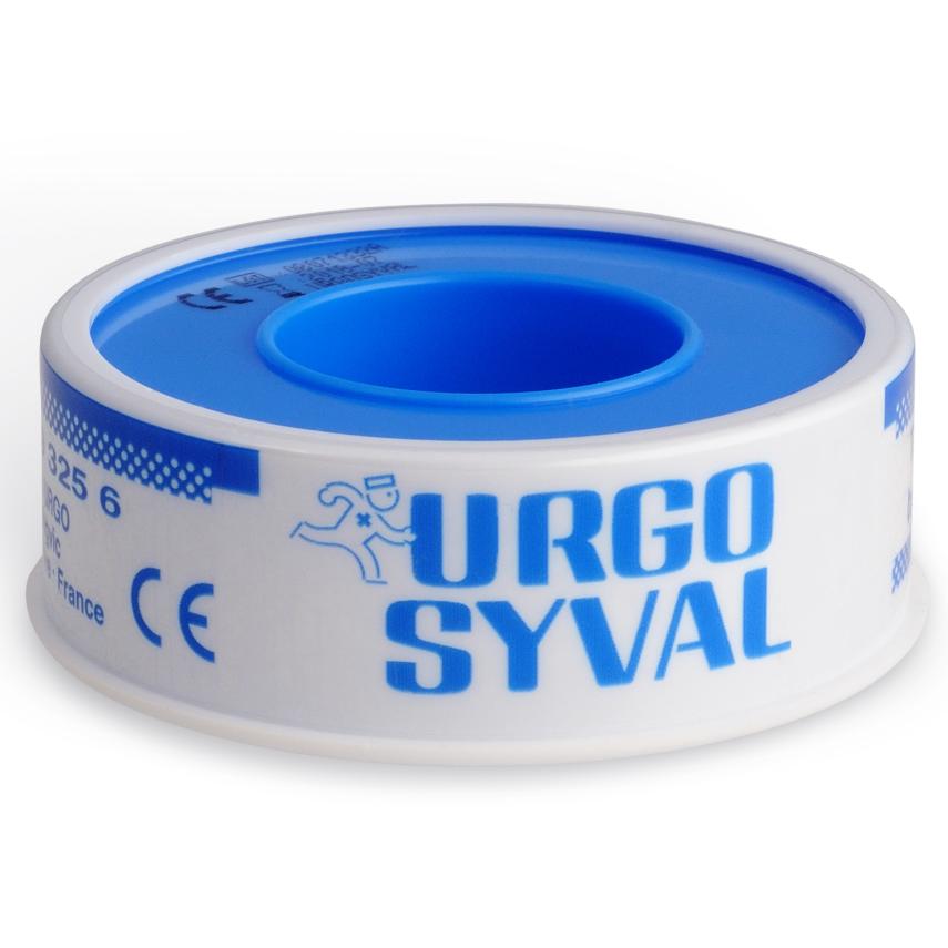 URGO SYVAL Fixační náplast 5mx1.25cm