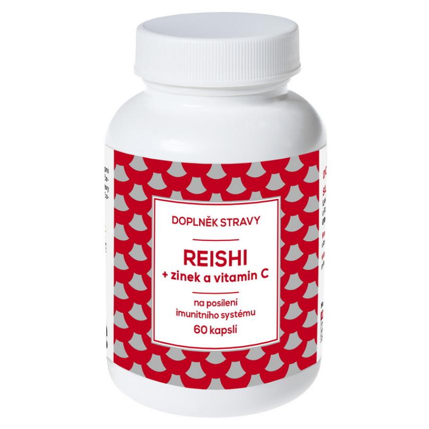 REISHI + Zinek a vitamín C cps.60