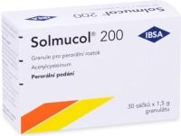 Zobrazit detail - Solmucol 200 por. gra. 30x200mg-sáč.