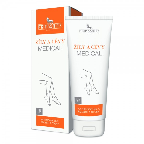 Priessnitz Žíly a cévy Medical 125ml
