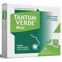 Zobrazit detail - Tantum Verde Mint orm. pas. 40x3mg