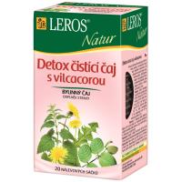 Zobrazit detail - LEROS NATUR Detox čist. čaj s Vilcacorou n. s. 20x1. 5