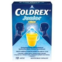 Zobrazit detail - Coldrex Junior citron por. plv. sol. scc. 10