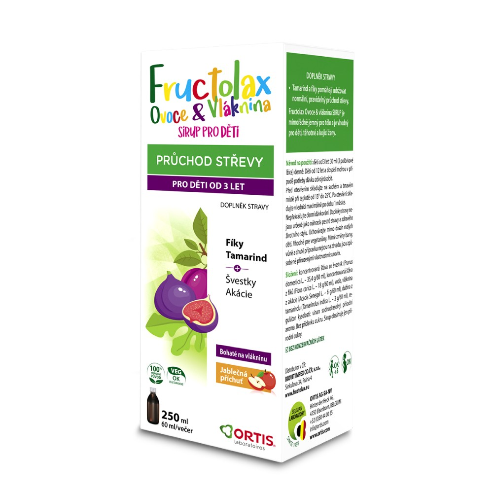 Fructolax Ovoce&Vl�knina SIRUP 250 ml