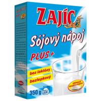 Zobrazit detail - Sójový nápoj - Zajíc PLUS 350g vitam. +vápník+lecit