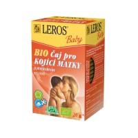 Zobrazit detail - LEROS BABY BIO Čaj pro kojící matky n. s. 20x2g