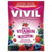 Zobrazit detail - Vivil Multivitam�n lesn� plody 8vit.  bez cukru 80g