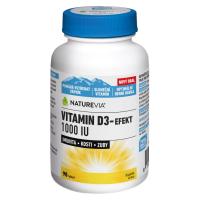 Zobrazit detail - Swiss NatureVia Vitamin D3-Efekt 1000 IU tbl. 90