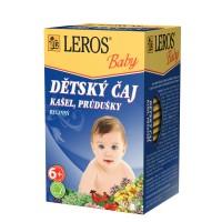 Zobrazit detail - LEROS BABY Dětský čaj Kašel+průdušky n. s. 20x1. 5g
