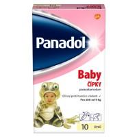 Zobrazit detail - Panadol Baby čípky 125mg rct. sup.  10x125mg