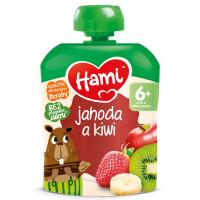 Zobrazit detail - Hami příkrm OK Jahoda a kiwi 90g