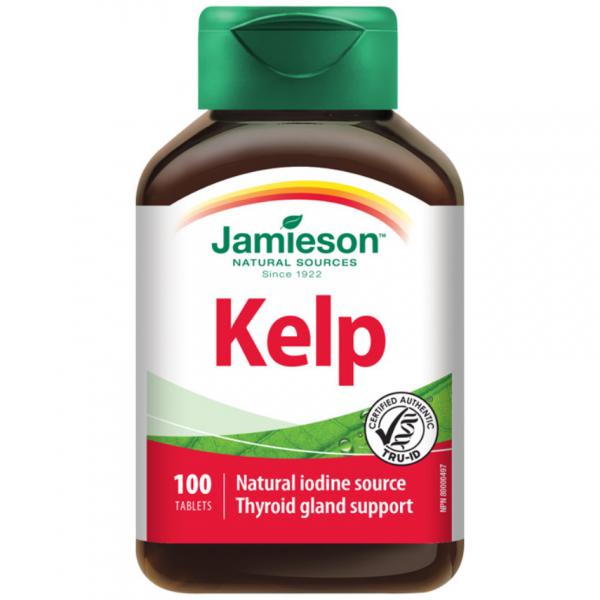 JAMIESON Kelp mořské řasy 650 mcg tbl.100