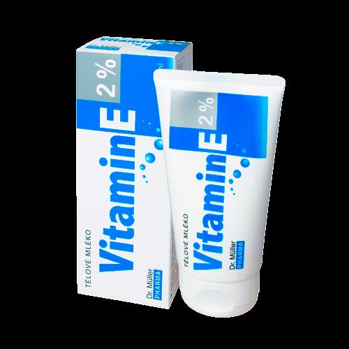 Vitamin E t�lov� ml�ko 2% 150ml Dr.M�ller