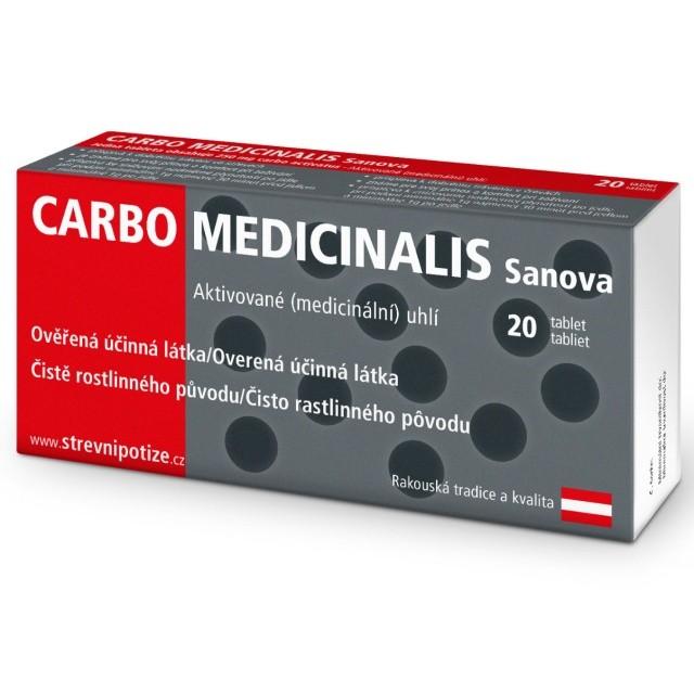 Carbo Medicinalis Sanova tbl.20