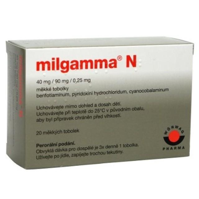 Milgamma N por.cps.mol.20