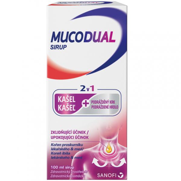 Mucodual 2.5g/100ml sirup 100ml