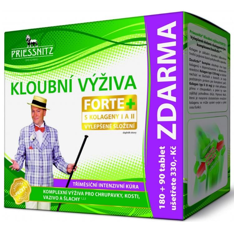 Priessnitz Kloubní výž.Forte Glukos.+Kolag. 180+90