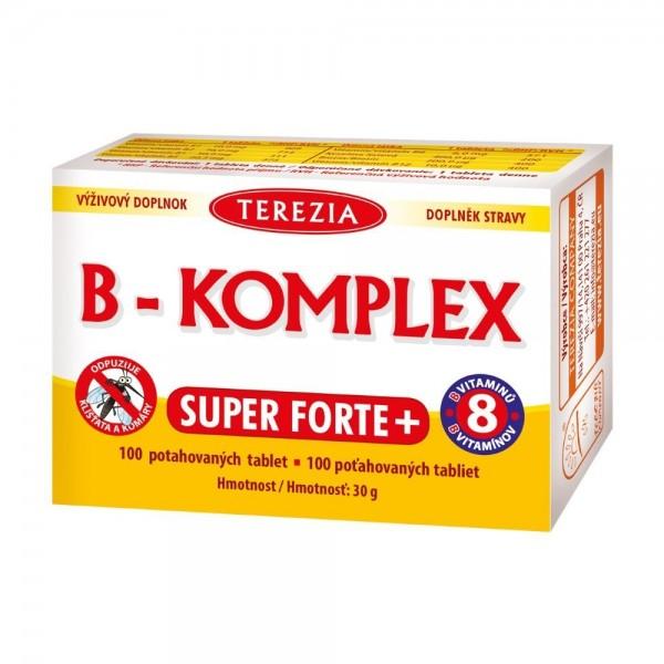 TEREZIA B-komplex Super Forte+ tbl.100