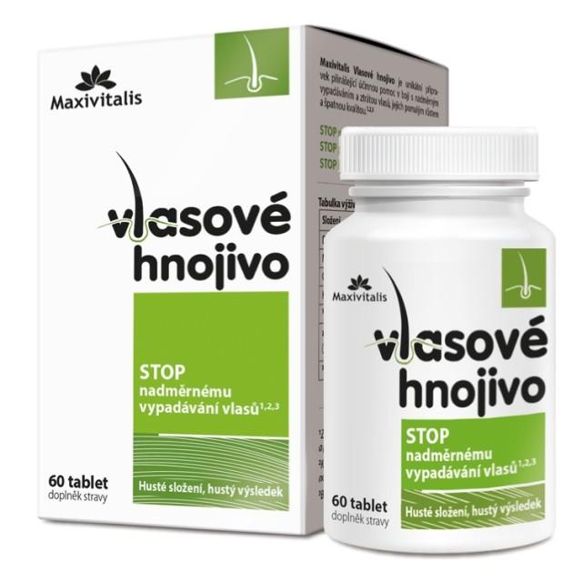 Maxivitalis Vlasové hnojivo 60 tablet