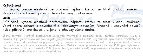 Informace o produktu 3M Transpore transp.náplast 2.5cmx9.1m 12ks