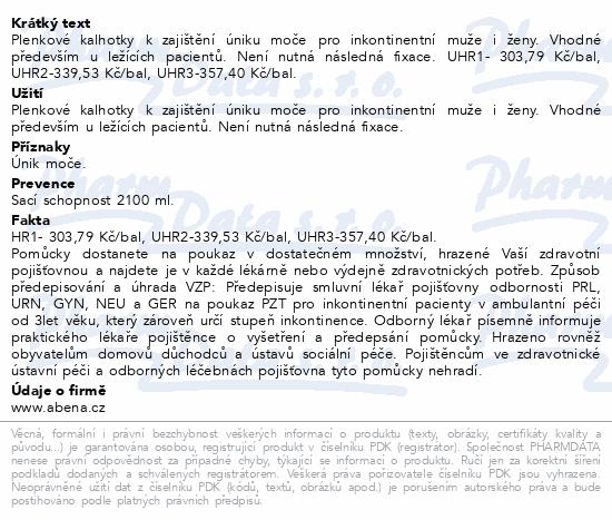 Informace o produktu Inkontinenční kalhotky Abri Form Comfort M1. 26ks