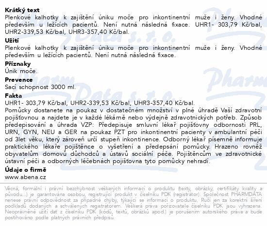 Informace o produktu Inkontinenční kalhotky Abri Form Comfort M3. 22ks