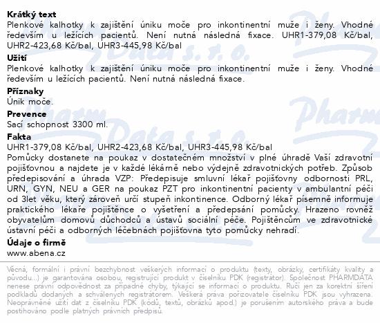 Informace o produktu Inkontinenční kalhotky Abri Form Comfort XL2. 20ks