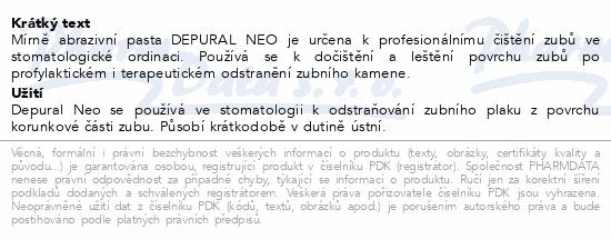 Informace o produktu Depural Neo 75g