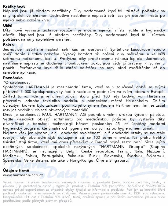 Informace o produktu Rychloobvaz DERMAPLAST inj.sensitive 4x1.6cm/250ks