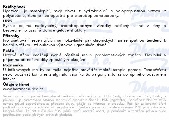 Informace o produktu Kompres Hydrocoll ster.10x10cm 10ks