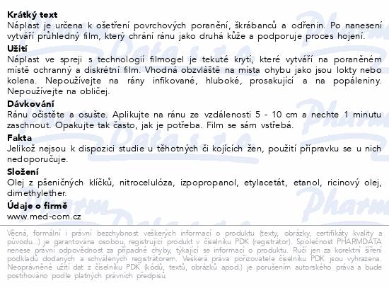 Informace o produktu URGO Náplast ve spreji 40ml