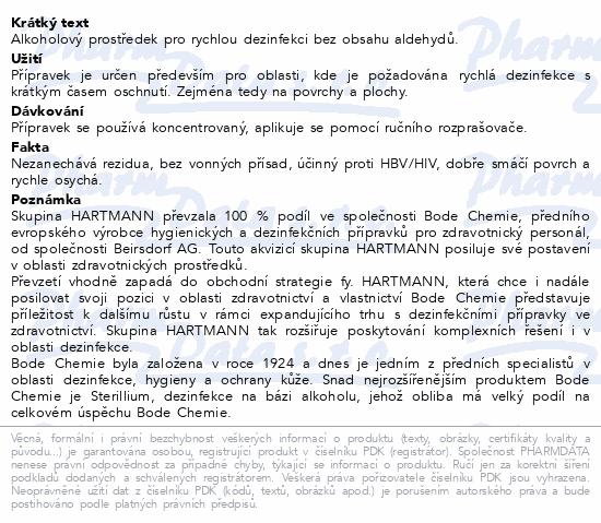 Informace o produktu BODE Bacillol AF 500ml