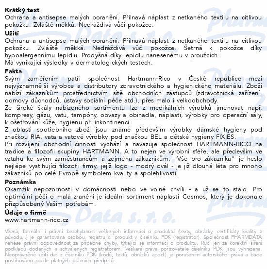 Informace o produktu Rychloobvaz COSMOS Na sport 6x10cm 5ks