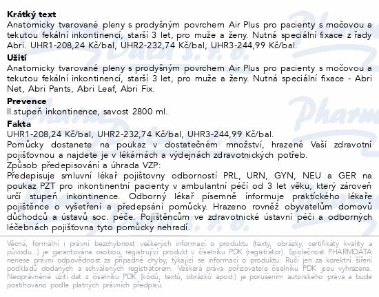 Informace o produktu Inkont.plena Abri San Premium 10. 21ks