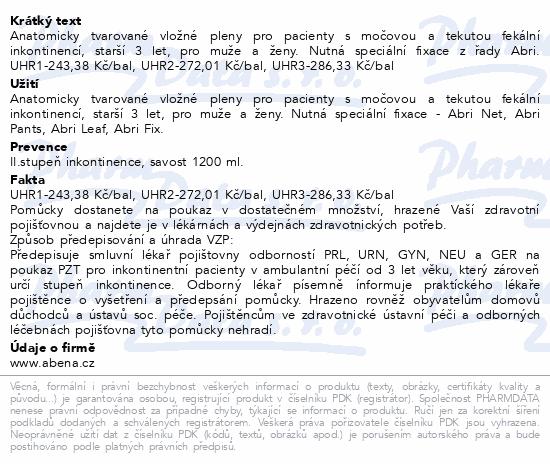 Informace o produktu Inkont.plena Abri San Premium 5. 36ks