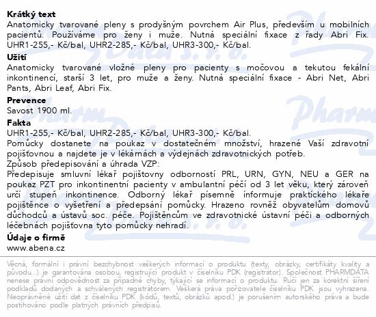 Informace o produktu Inkont.plena Abri San Premium 7. 30ks