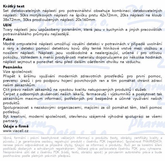 Informace o produktu VIACELL M142 Modrý MIX velký 120ks